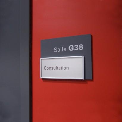 Salle de consultation HMR Anick Blais Design