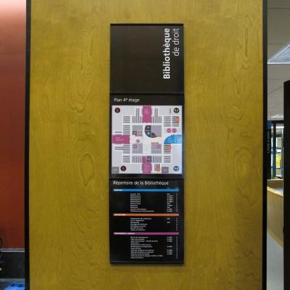 Répertoire de la bibliothèque de la droit de l'UdeM Anick Blais Design