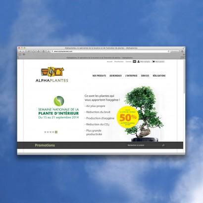 Bannière web vente Alphaplantes