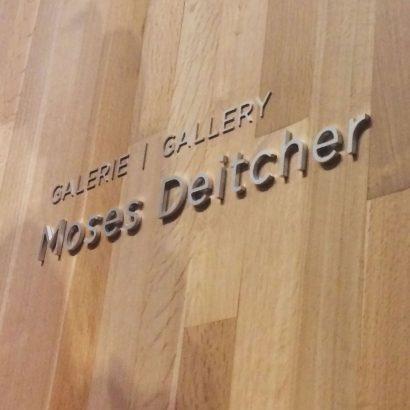 Janou Fleury graphiste conseil | MBAM Signalétique des lieux secondaires Moses Deitcher