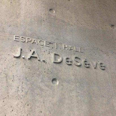 Janou Fleury graphiste conseil | MBAM Signalétique des lieux secondaires J.A. DeSève