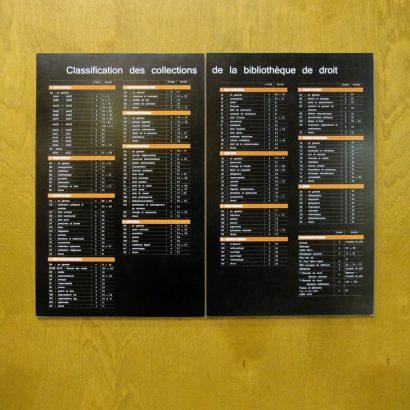 Répertoire principal de la bibliothèque de la droit de l'UdeM Anick Blais Design